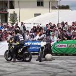 バイクに乗ってボールを追いかけるサッカー様のスポーツ【モトボール】のルール、費用、必要な道具など