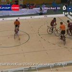 自転車で行うサッカーに似たスポーツ【サイクルサッカー】のルール、費用、必要な道具など