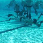 イングランド発祥の水中スポーツで、ホッケー競技の1つである【水中ホッケー】のルール、費用、必要な道具など