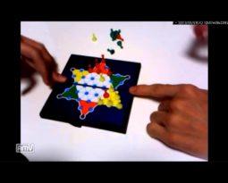 ダイヤモンドの光沢を模した頂点が6つある星型の盤面上を用いて遊ぶボードゲーム【ダイヤモンドゲーム】のルール、費用、必要な道具など