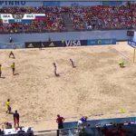 砂浜で行うサッカーの一種【ビーチサッカー】のルール、費用、必要な道具など