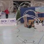 宇宙遊泳をしているかのように空中を移動するドイツ発祥のスポーツ【ラート】のルール、費用、必要な道具など